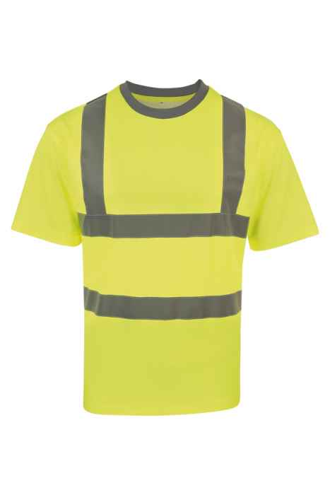 Hi-Viz Poly-Cotton Shirt  - Gelb