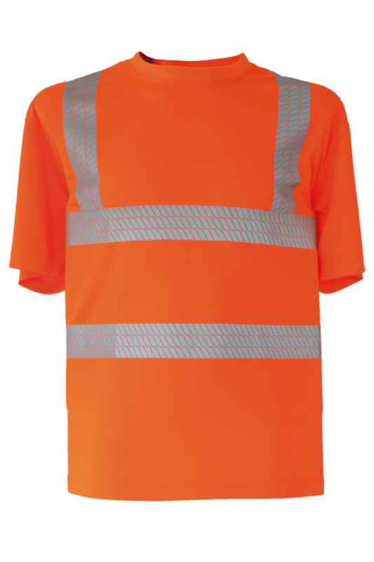 Broken Reflex T-Shirt - Orange