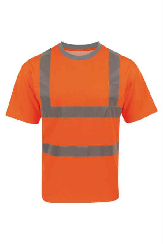 Hi-Viz Poly-Cotton Shirt  - Orange